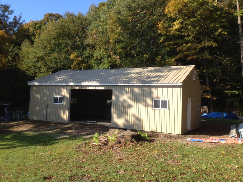Garage Buildings Ac Wood Berkshire Country Contracting